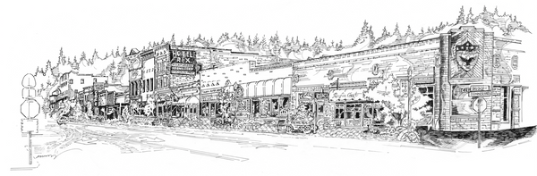 Truckee - close up