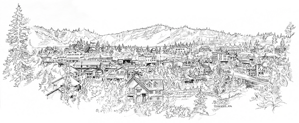 Truckee - view