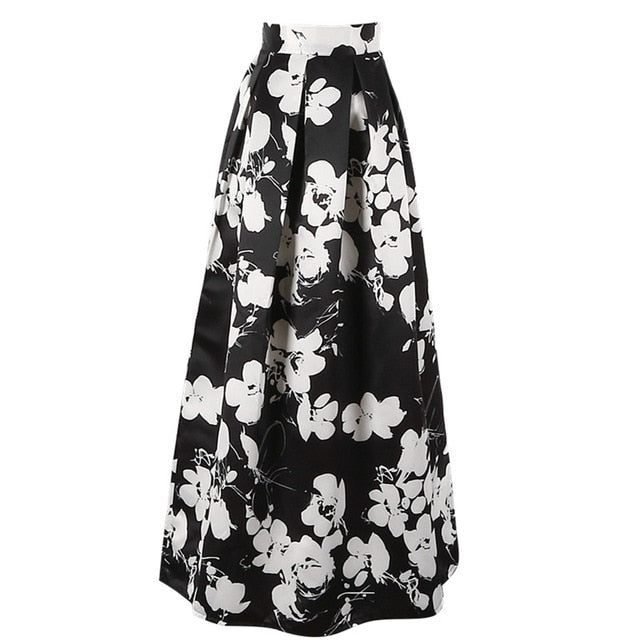 Essence Maxi Skirt in Black