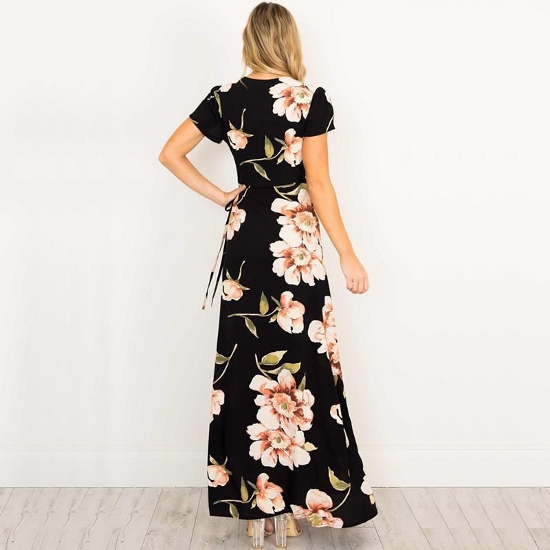 Iyana Maxi Dress in Black
