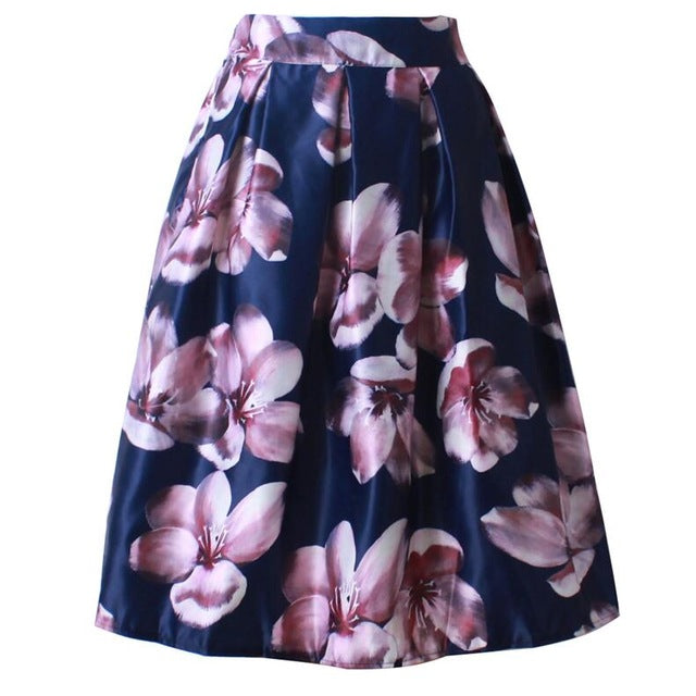 Catherine Skirt in Blue