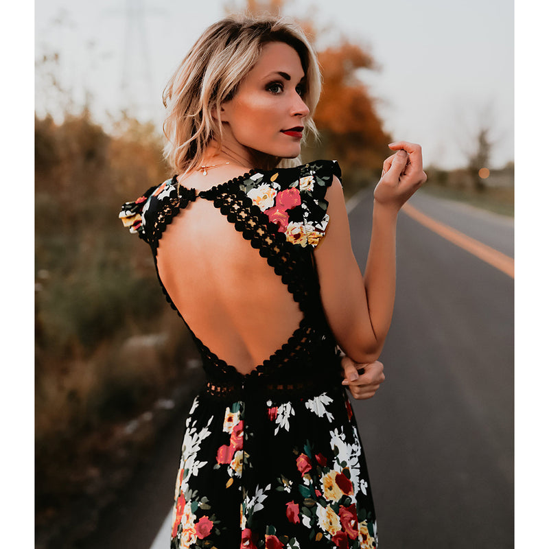 Brooklynn Dress in Black