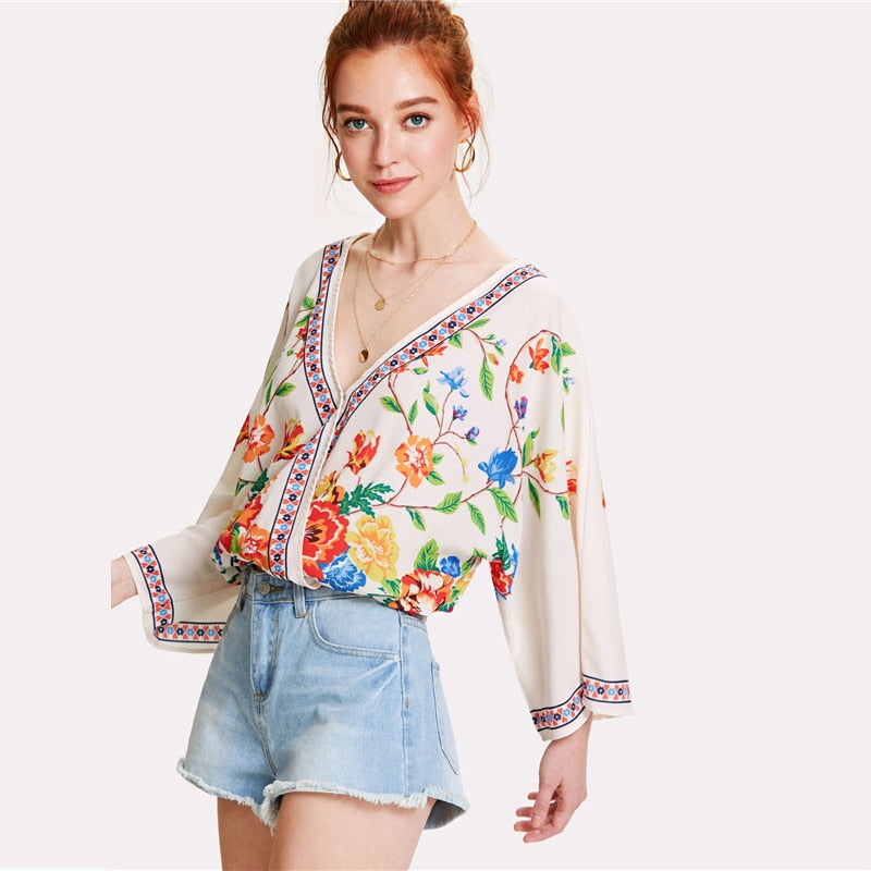 Charity Long Sleeve Blouse