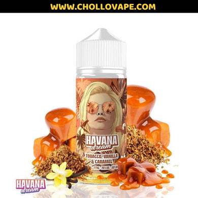 Tobacco, Vanilla & Caramel 100ml - Havana Dream