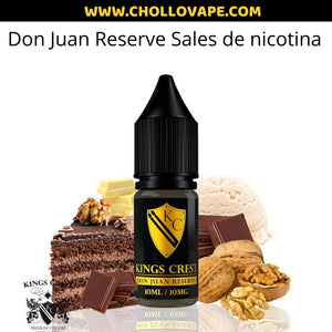 Don juan sales de nicotina