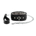 Atlas Set Ankle Cuffs Wrist Cuffs Collar Chain Leash Chinchilla Faux Fur Lambskin Leather