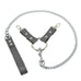 Bonn Lockable Regular Fur Wrist Cuffs Chain Hogtie Metal Hardware Reliable Restraint