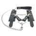 Madison Lockable Regular Chain Leash 2-Way Hogtie and Wrist Cuffs Reliable Restraint