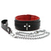 Madison Leather Collar and Leash Softest Full Grain Leather Padded