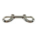 "Heavy Duty Nickel - Plated 3-3/8"" Double Ended Swivel Snap Hook Double Swivel Snap Clip"