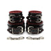 Ramos Vegan Padded Wrist and Ankle Restraints Kit