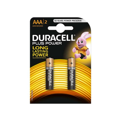 DURACELL AAA BATTERY PACK OF 2