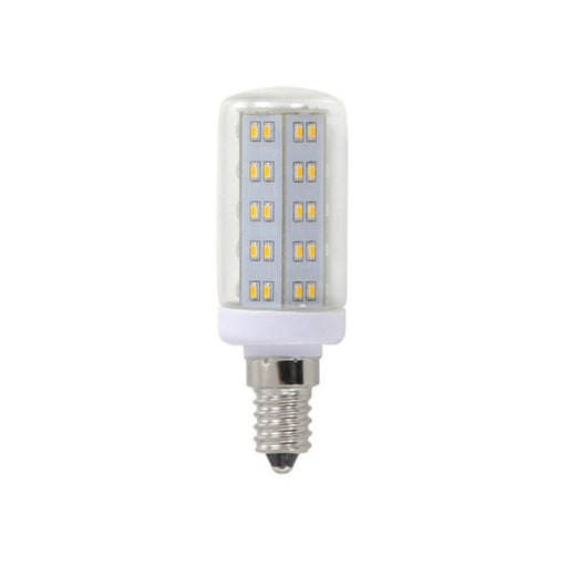 LED bulb E14 in rod form with warm white color temperature