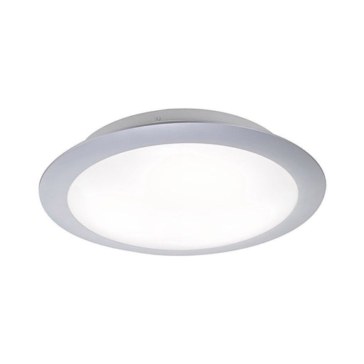 LED ceiling light in white and round with warm white light color emits a glare-free light