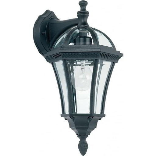 Drayton Outdoor 1 Light Wall Light Black IP44