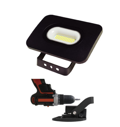 50W Die Cast LED Flood With Easy Mounting Bracket