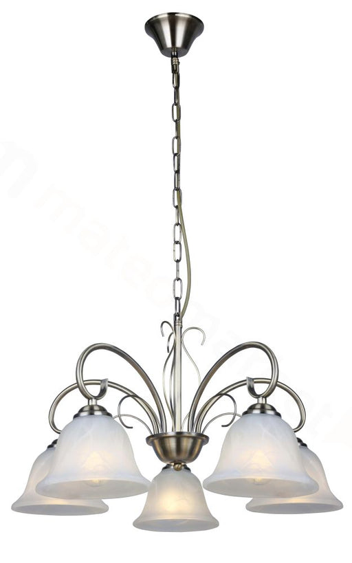 POMPEA CHANDELIER 5 LIGHT