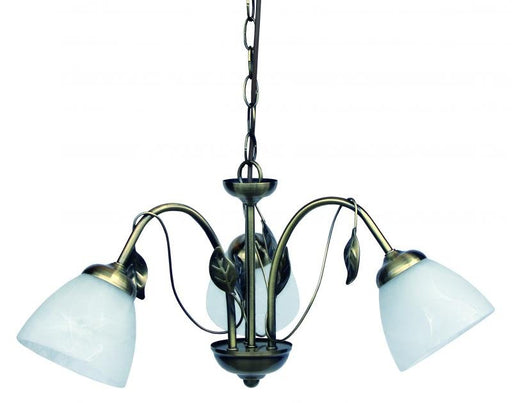 ZOJA CHANDELIER 3 LIGHT