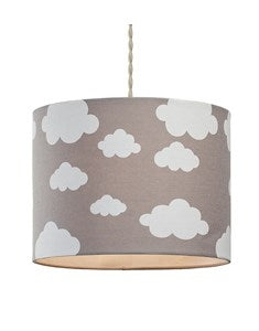 Cloudy Day Pendant Shade - Grey