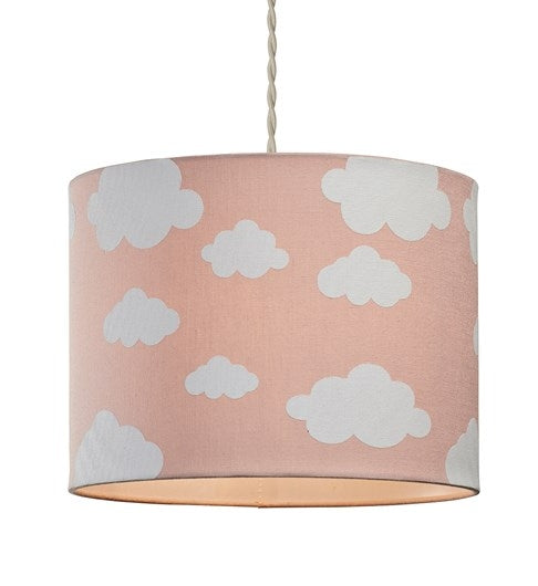 Cloudy Day Pendant Shade - Pink