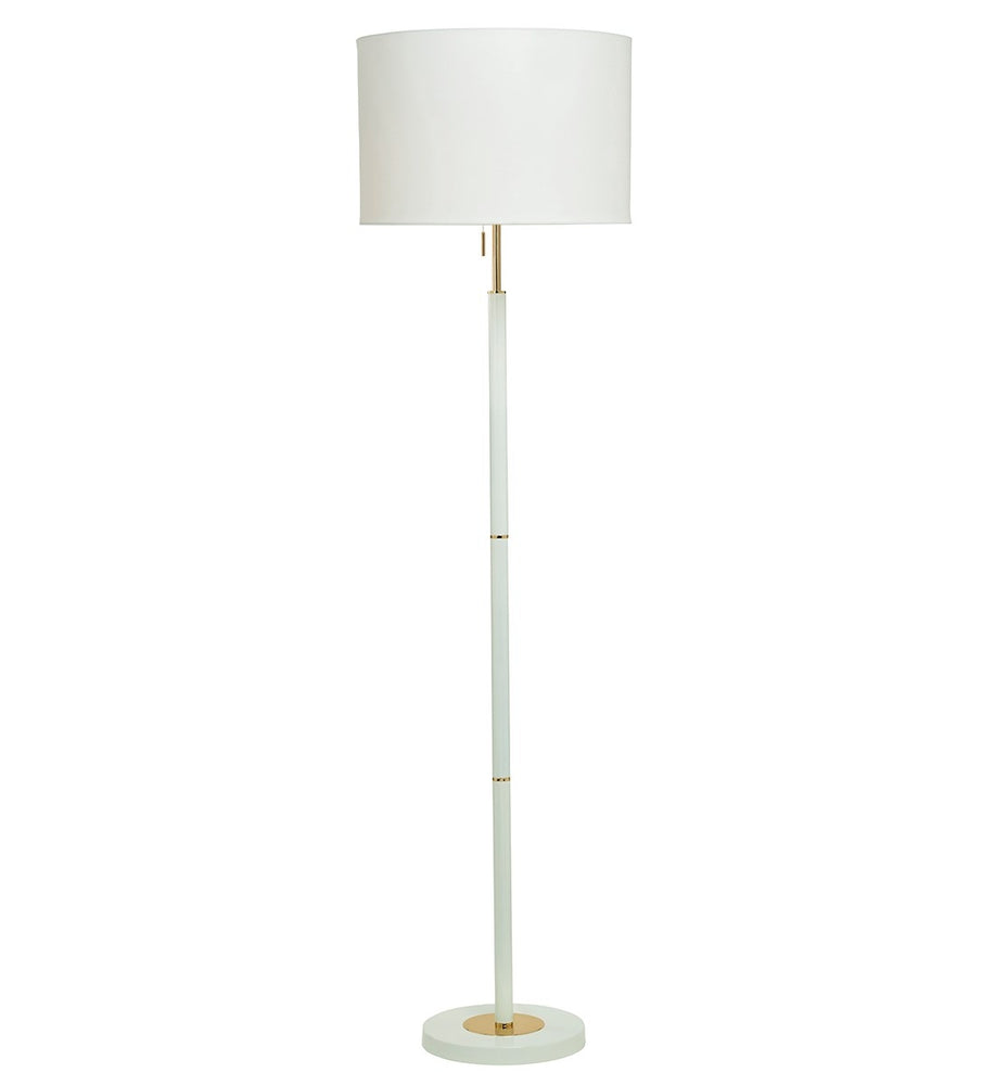 Madaline Floor Lamp - Ivory | Gold