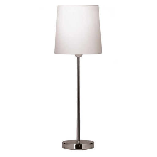 Tall Stick Table Lamp - White