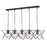 Midi 5 Light Bar Pendant Black