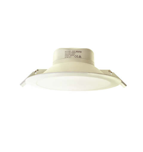 7W DIMMABLE IP44 PVC DOWNLIGHT