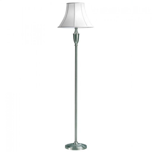Vienna Floor Lamp - Satin Chrome