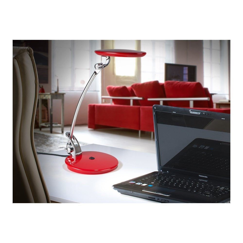 ·OMNIA· LED TABLE LAMP, RED