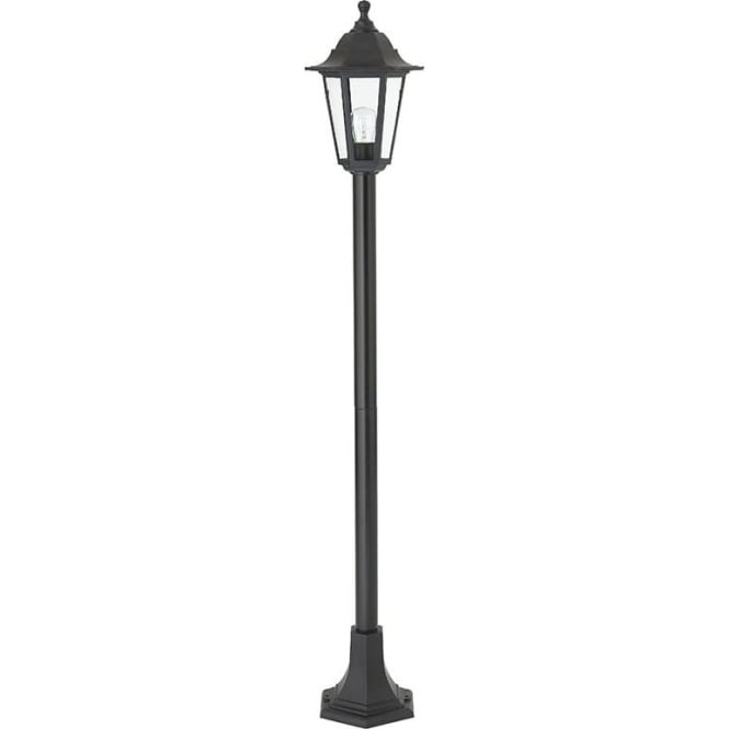 Bayswater Traditional Outdoor Post Lamp Black IP44