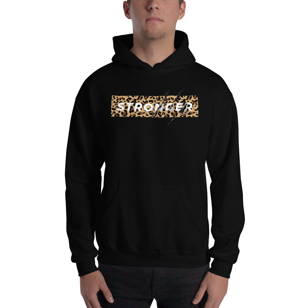 Stronger- Hooded Motivately Sweatshirt