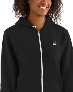 Motivately Iconic Zipped Hoodie sweater
