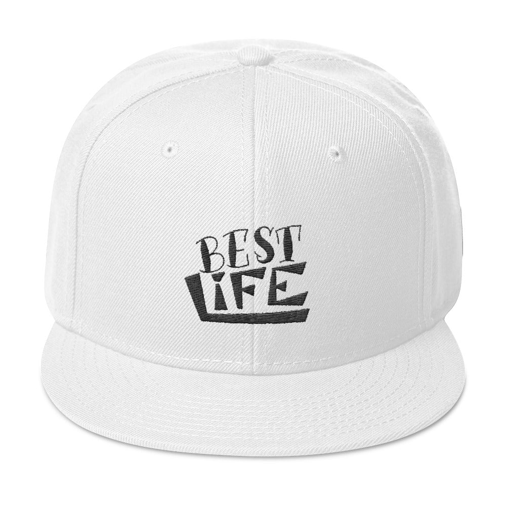 Best Life- Motivately Snapback Hat