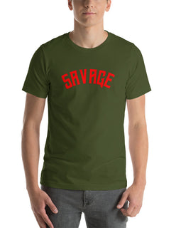 Savage | Short Sleeve Tee | Fuego