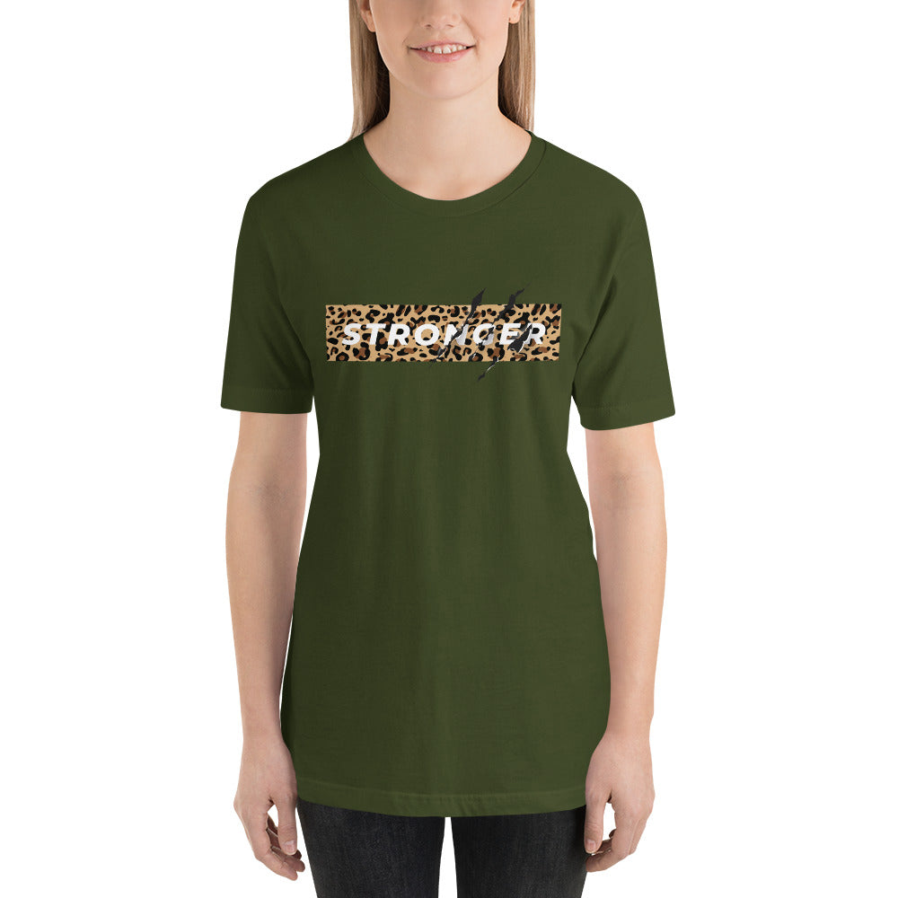 Stronger - Short-Sleeve Unisex T-Shirt