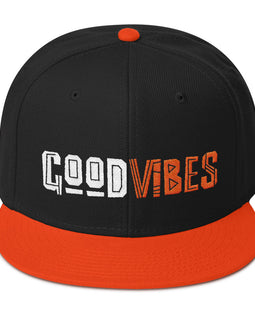 Good Vibes-Motivately Snapback Hat