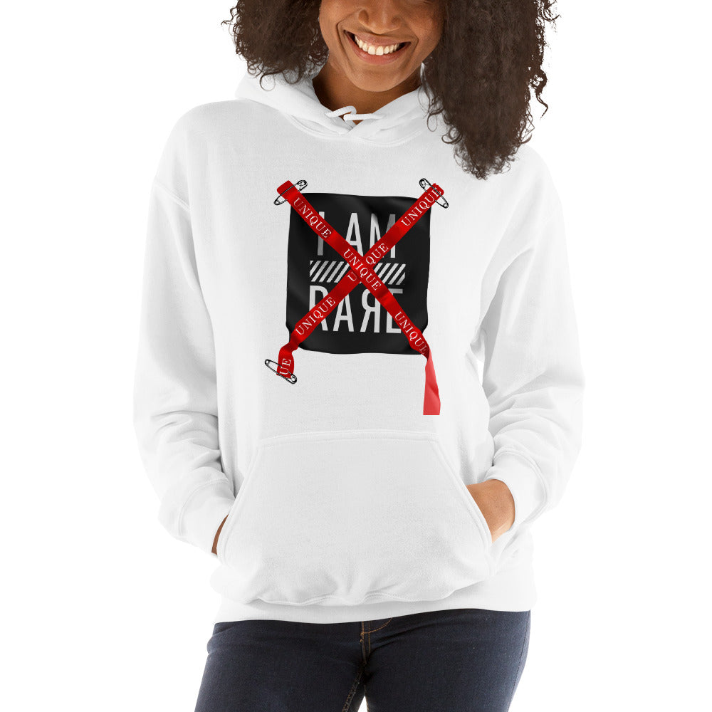 I Am rare-Hooded Sweatshirt