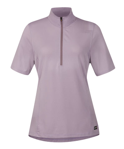 Ice Fil® Lite Short Sleeve Riding Shirt - Solid Plumeria