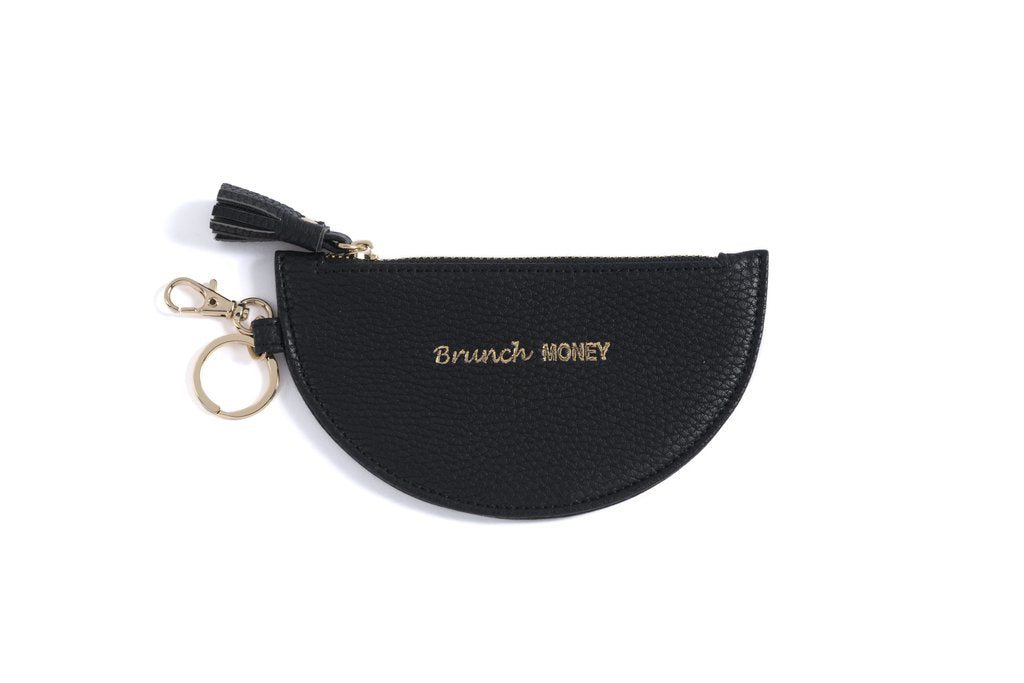 Brunch Money Black Key Chain