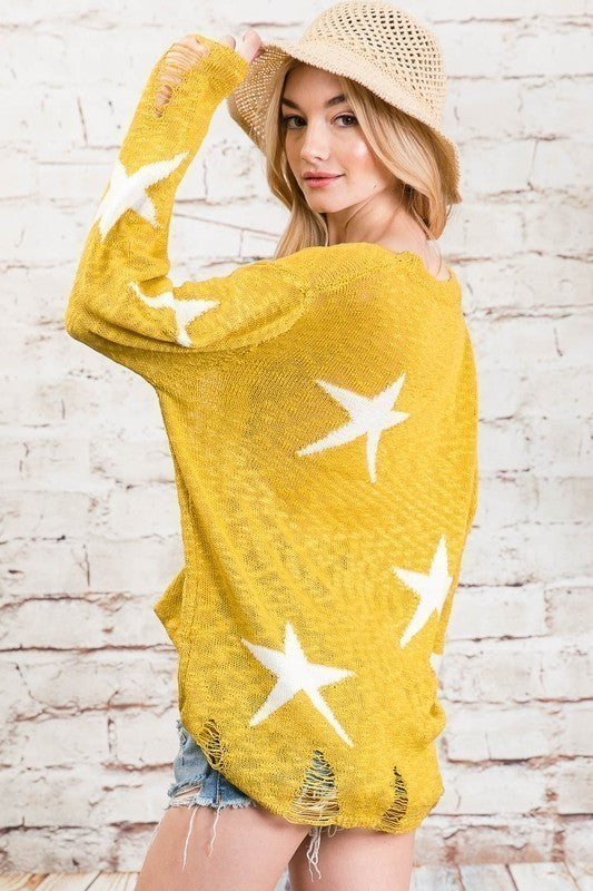 Savannah Star Sweater