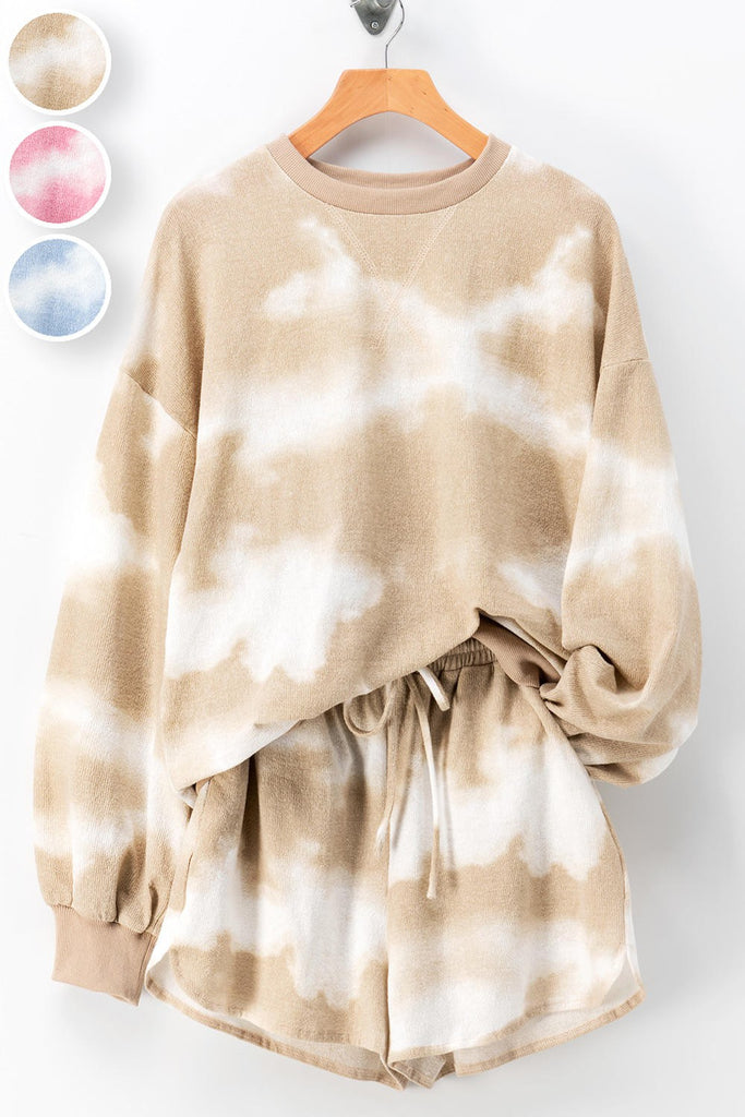 Sandy Shore Neutral Tie Dye Set