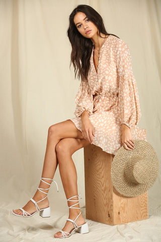 French River Floral Romper