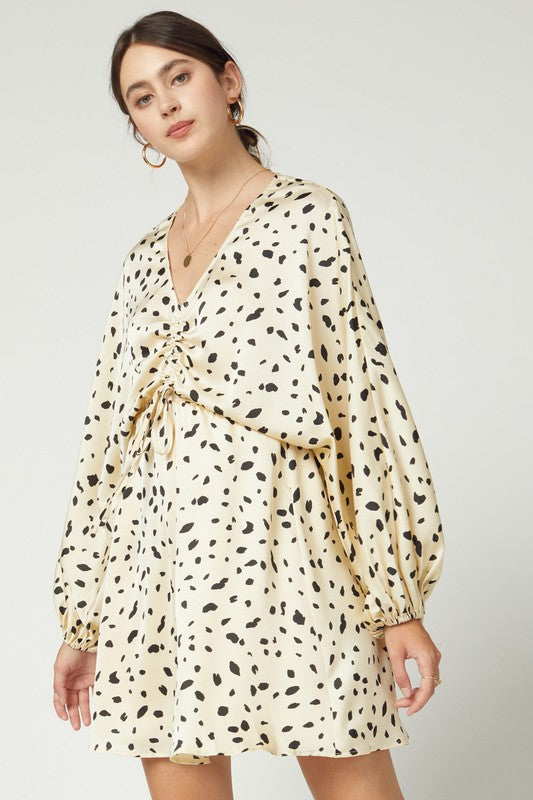 Rolling Hills Spotted Dress