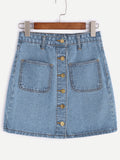Venice Beach Denim Skirt