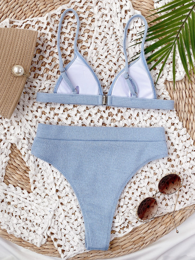 Outer Banks Blue Bikini Set