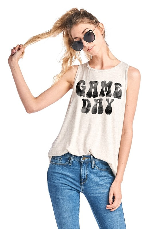 Game Day Graphic Top