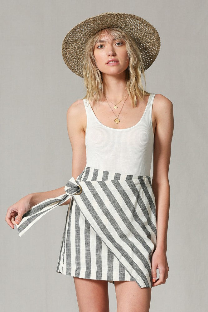 Canyon Striped Skirt