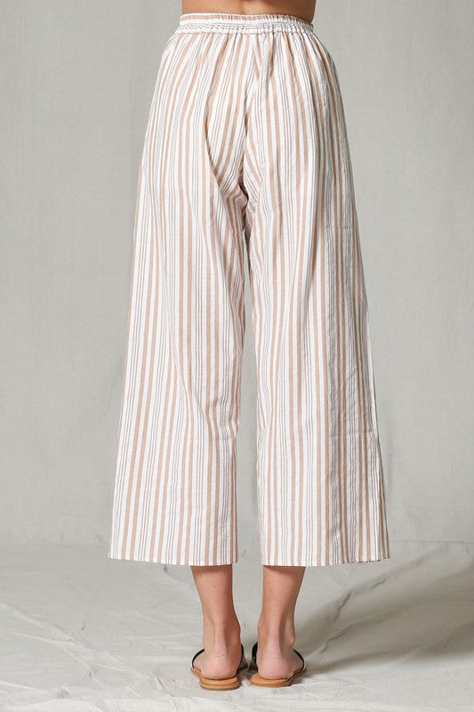 Herringbone Striped Pants