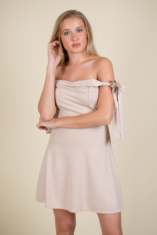 Baskin White Dress